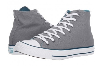 Hot Sale Converse Chuck Taylor® All Star® Seasonal Color Hi Cool Grey/Shoreline Blue/Blue Fir