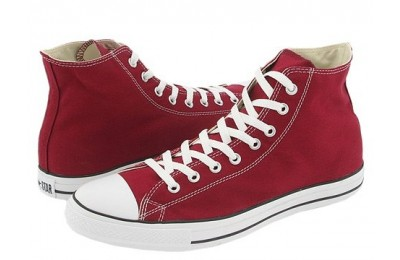 [ Hot Deals ] Converse Chuck Taylor® All Star® Seasonal Color Hi Maroon