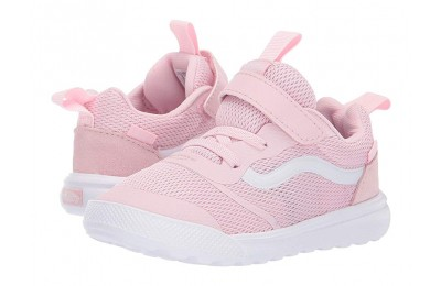 [ Hot Deals ] Vans Kids UltraRange Rapidweld (Toddler) Chalk Pink/True White