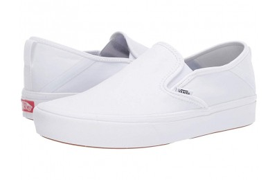Christmas Deals 2019 - Vans ComfyCush Slip-On SF White