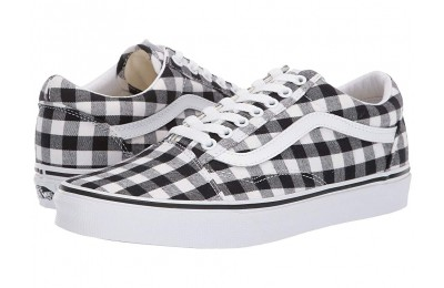 [ Hot Deals ] Vans Old Skool™ (Gingham) Black/True White