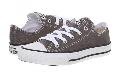Hot Sale Converse Kids Chuck Taylor® All Star® Core Ox (Little Kid) Charcoal