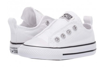 Black Friday Converse Kids Chuck Taylor® All Star® Core Slip (Infant/Toddler) White/Black/White Sale