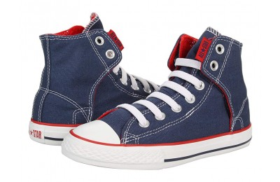 Christmas Deals 2019 - Converse Kids Chuck Taylor® All Star® Easy Slip (Little Kid/Big Kid) Navy