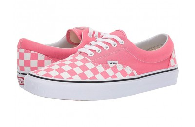 [ Hot Deals ] Vans Era™ (Checkerboard) Strawberry Pink/True White