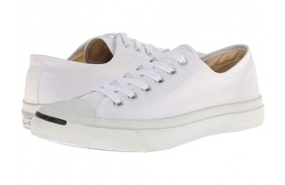 Black Friday Converse Jack Purcell® CP Canvas Low Top White/White Sale
