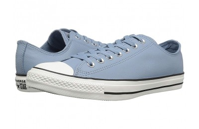 [ Hot Deals ] Converse Chuck Taylor All Star - Leather Ox Washed Denim/Washed Denim/Egret