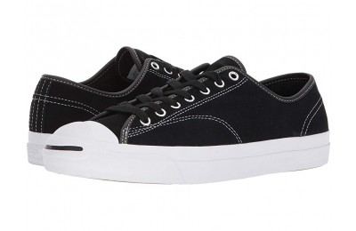 [ Hot Deals ] Converse Skate Jack Purcell Pro Ox Skate Black/Black/White