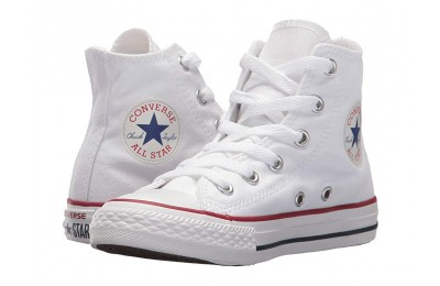 Christmas Deals 2019 - Converse Kids Chuck Taylor® All Star® Core Hi (Little Kid) Optical White