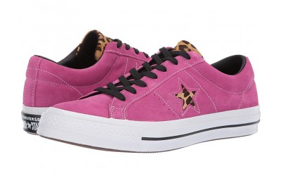 [ Hot Deals ] Converse One Star Varsity Remix - Ox Active Fuchsia/White/Black