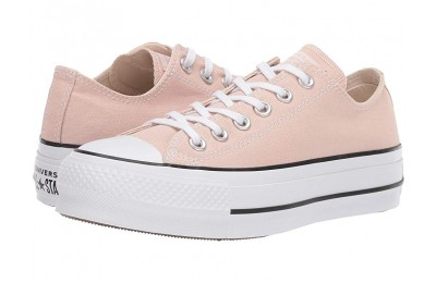 [ Hot Deals ] Converse Chuck Taylor® All Star® Seasonal Color Lift Ox Particle Beige/White/Black
