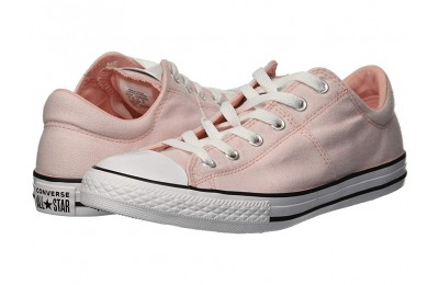 Converse Kids Chuck Taylor All Star Madison - Ox (Little Kid/Big Kid) Storm Pink/Storm Pink/White