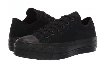 [ Hot Deals ] Converse Chuck Taylor® All Star Canvas Lift Black/Black