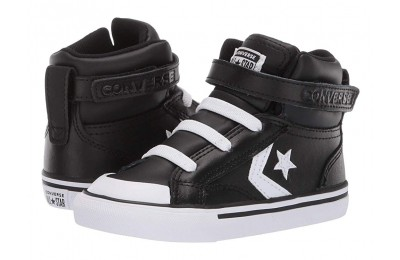 Hot Sale Converse Kids Pro Blaze Strap - Hi (Infant/Toddler) Black/White/White
