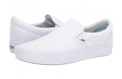 Christmas Deals 2019 - Vans ComfyCush Slip-On (Classic)True White/True White