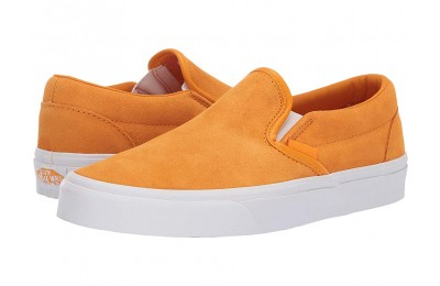 [ Hot Deals ] Vans Classic Slip-On™ (Soft Suede) Zinnia/True White