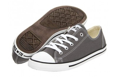 [ Hot Deals ] Converse Chuck Taylor® All Star® Dainty Ox Charcoal