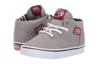 [ Hot Deals ] Vans Kids Half Cab (Toddler) (C&L) Drizzle/Camo