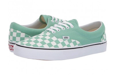 Christmas Deals 2019 - Vans Era™ (Checkerboard) Neptune Green/True White