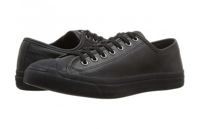 Hot Sale Converse Jack Purcell Jack - Ox Black/Black/Blue Fir