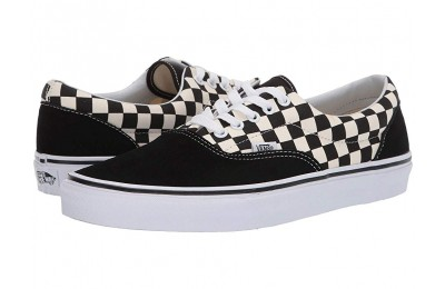 Vans Era™ (Primary Check) Black/White Black Friday Sale