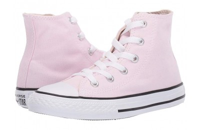 Hot Sale Converse Kids Chuck Taylor® All Star® Seasonal - Hi (Little Kid/Big Kid) Pink Foam/Natural Ivory/White