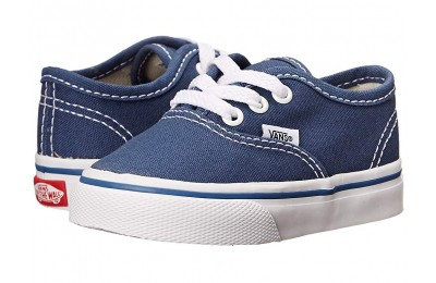 [ Hot Deals ] Vans Kids Authentic Core (Toddler) Navy