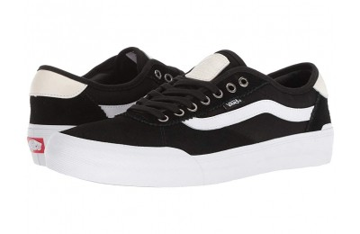 [ Hot Deals ] Vans Chima Pro 2 (Suede/Canvas) Black/White