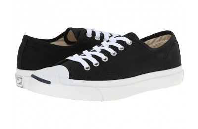 [ Black Friday 2019 ] Converse Jack Purcell® CP Canvas Low Top Black/White
