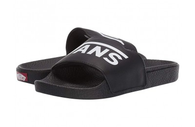 Vans Kids Slide-On (Little Kid/Big Kid) (Vans) Black Black Friday Sale