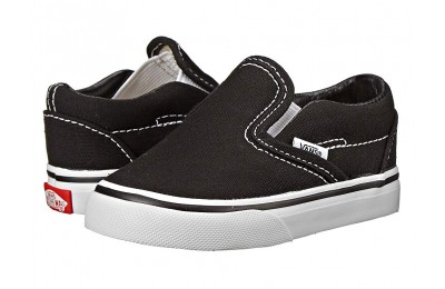 Vans Kids Classic Slip-On Core (Toddler) Black