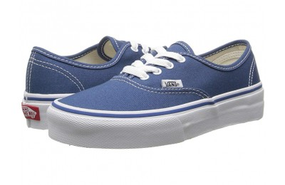 Buy Vans Kids Authentic (Little Kid/Big Kid) Navy/True White