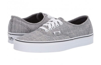 Vans Authentic™ (Chambray) Ebony/True White Black Friday Sale