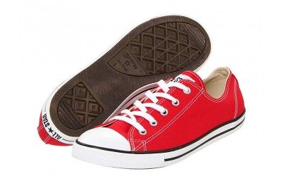 [ Hot Deals ] Converse Chuck Taylor® All Star® Dainty Ox Varsity Red