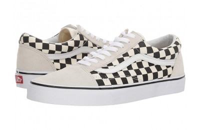 Vans Old Skool™ (Checkerboard) White/Black Black Friday Sale