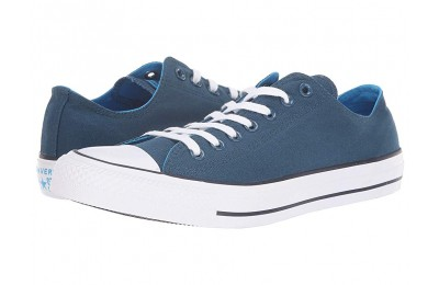 Christmas Deals 2019 - Converse Chuck Taylor All Star Seasonal Ox Blue Fir/Blue Hero/Inked