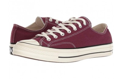 [ Hot Deals ] Converse Chuck Taylor® All Star® '70 Ox Dark Burgundy/Black/Egret