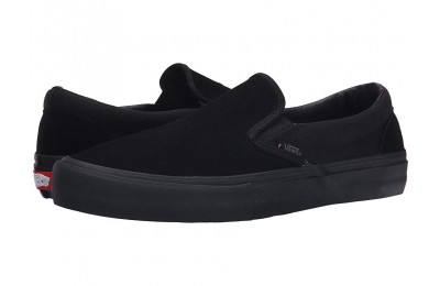 [ Hot Deals ] Vans Slip-On Pro Blackout Suede/Canvas