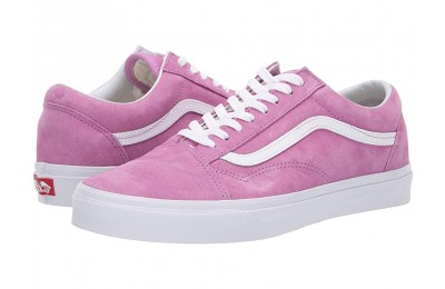 Vans Old Skool™ (Pig Suede) Violet/True White
