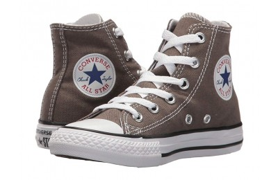 [ Hot Deals ] Converse Kids Chuck Taylor® All Star® Core Hi (Little Kid) Charcoal