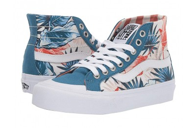 Christmas Deals 2019 - Vans SK8-Hi 138 Decon SF (Vintage Rio) Blue Sapphire/Carnelian
