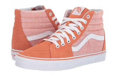 [ Hot Deals ] Vans SK8-Hi™ (Chambray) Carnelian/True White