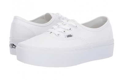 [ Hot Deals ] Vans Authentic Platform 2.0 True White