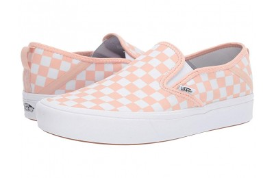 Christmas Deals 2019 - Vans ComfyCush Slip-On SF (Checker) Spanish Villa/White