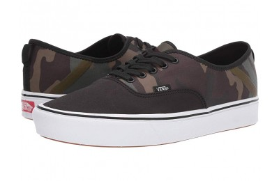 Vans ComfyCush Authentic SF (Camo) Black/Green Black Friday Sale