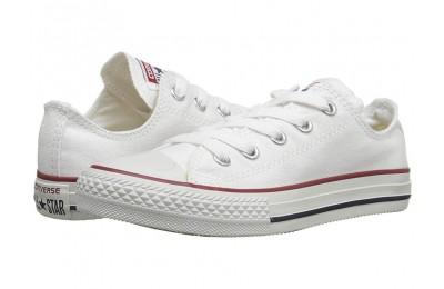[ Hot Deals ] Converse Kids Chuck Taylor® All Star® Core Ox (Little Kid) Optical White
