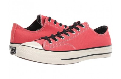 Hot Sale Converse Chuck Taylor® All Star® '70 Vintage Canvas Ox Sedona Red/Black/Egret