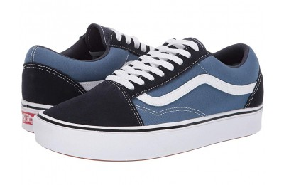 [ Hot Deals ] Vans Comfycush Old Skool (Classic) Navy/STV Navy