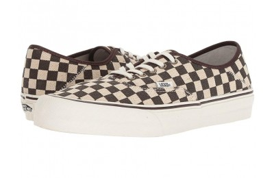 Vans Authentic SF Distressed Check Black Friday Sale