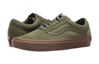 Vans Old Skool™ (Suede/Canvas) Winter Moss/Gum Black Friday Sale
